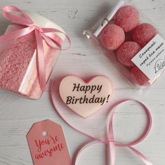 Мыло с Днем рождения