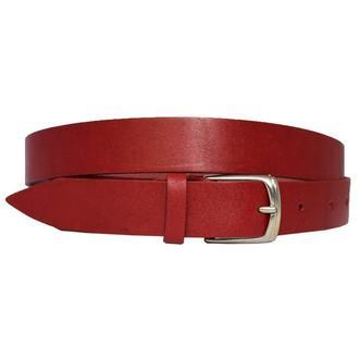 Passion23 ремень женский кожаный красный пояс кожа