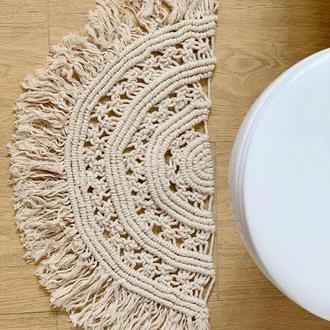 Декоративный коврик в ванну