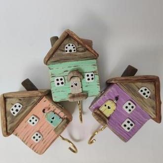 Набор домов-ключниц для детской комнаты