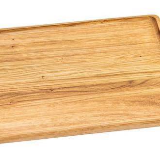 Деревянный прямоугольный поднос 40х30, А-9122
