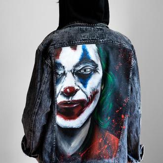 Джинсовая куртка Джокер (Хоакин Феникс)