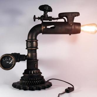 Loft Настольная лампа Steampunk  Стимпанк (Frankenstein)