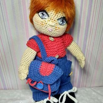 Куколка вязаная