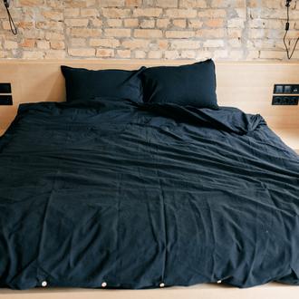 Комплект постельного белья из вареного хлопка Leglo Black