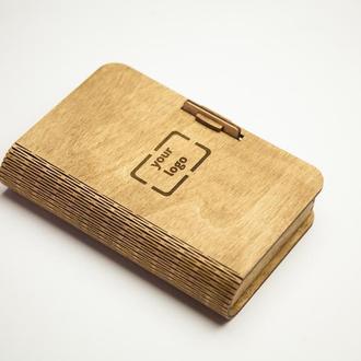 Счетница из дерева для кафе и ресторанов