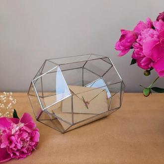 Сундук для конвертов. Весільна скриня для конвертів.