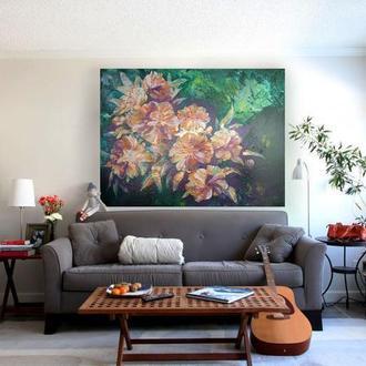 картина интерьерная Цветы