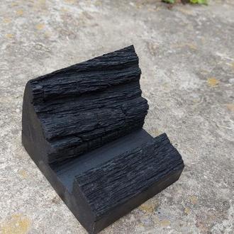 Визитница из дерева, подставка под визитки