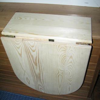 Настенный складной столик из дерева
