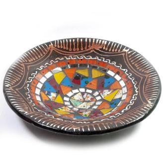 Блюдо мозаичное Орнамент