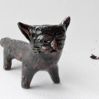 Курительная трубкав виде кота