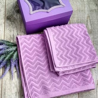 Комплект из 2-ух крутых полотенец 70*140 см и 50*90 см