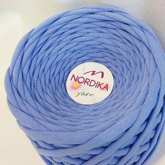 Трикотажна пряжа Nordika Yarn 7-9 мм джинс 019