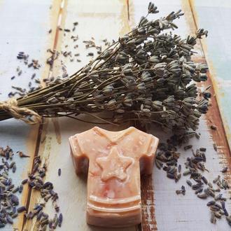 Натуральное эко мыло «с нуля» «Лаванда»