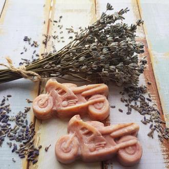 Натуральное лавандовое мыло «с нуля» «Лаванда»