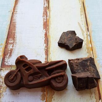 Шоколадное натуральное мыло «с нуля» «Шоколад и ваниль»