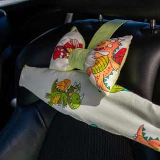 лучший фиксатор головы в автокресле, автомобиле, трехточечный двухсторонний ремень безопасности