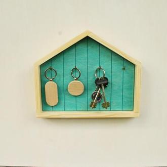 Ключница из дерева, органайзер для ключей