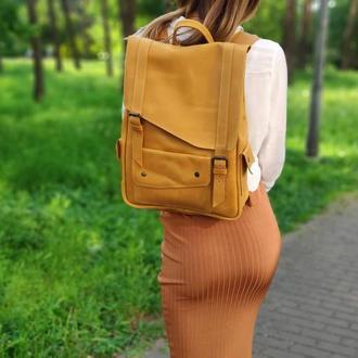 Кожаный рюкзак женский   рюкзак из натуральной кожи   БЕСПЛАТНАЯ ГРАВИРОВКА   Kozhemyaka ❤
