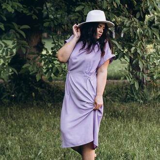 Летнее платье Plus size Летнее платье