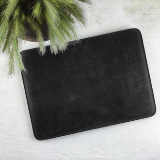 Кожаный чехол для ноутбука | БЕСПЛАТНАЯ ГРАВИРОВКА | Kozhemyaka ❤