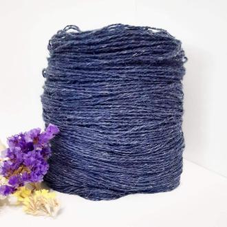 Пряжа з вовни Nordika Wool синя 017