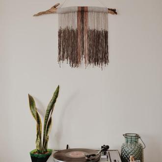Макраме/ Макраме панно на стену/Бохо декор в интерьєре/Гобелен/Декор для стен