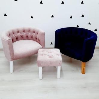 Детское кресло ,мягкое детское кресло ,детский пуфик