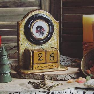 вічний календар золотий