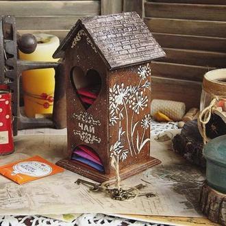 чайный домик в эко стиле