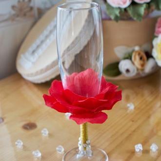 Весільні бокали для шампанського арт. 9007