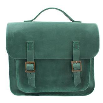 Кожаная сумка-трансформер. 07008/зеленый