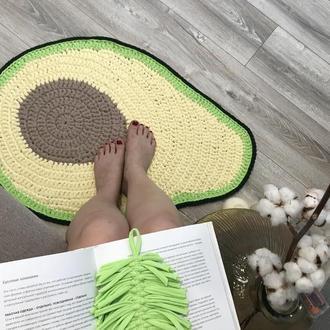 Трикотажный интерьерный ковер Авокадо