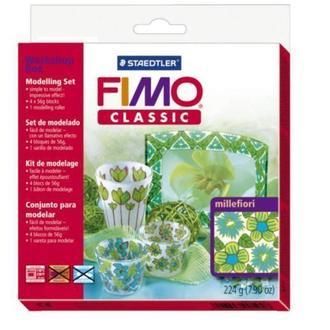 Набір FIMO Classic для майстер-класу «Міллефіорі» 4х56г. 8003/31/L1