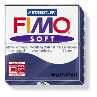 Полимерная глина FIMO Soft, синий (56г) STAEDTLER. 35/8020