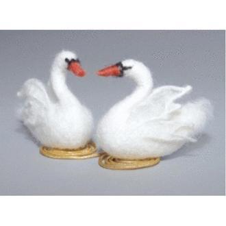 В-167 Белые лебеди. Чарівна Мить. Набор для валяния