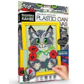 Набор для творчества DankoToys DT PC-01-02 вышивка на пластиковой канве
