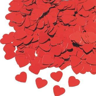 Набор декоративных элементов Knorr Prandell Сердечки 0,5-1см, красные, 20гр 216377240