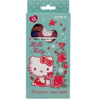 Пастель масляная Kite 12цв. Hello Kitty HK19-071