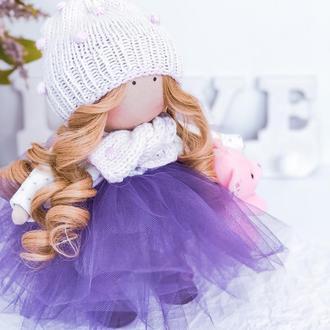 Кукла принцесса с медовыми локонами