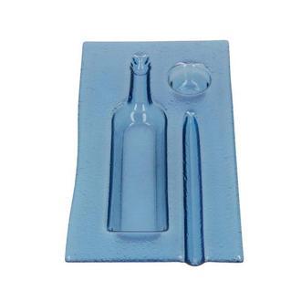 Тарелка для суши Синяя
