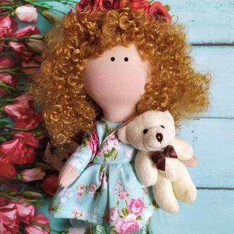 Кукла рыжуля