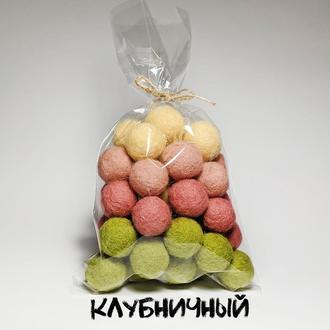 Наборы шерстяных шариков для творчества