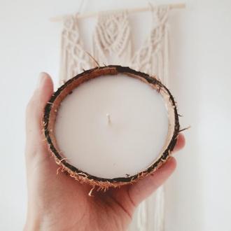 Свеча в кокосе | Свічка в кокосі