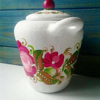 Банку керамічна для сухого використання