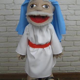Пастух кукла на руку с открывающимся ртом