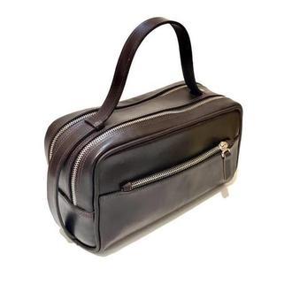 Кожаная сумка барсетка  несессер