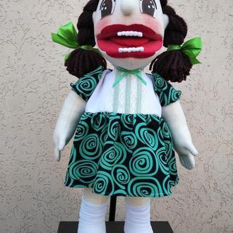 Маша логопедическая кукла