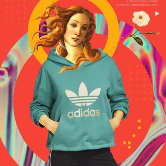 """Постер для декора из серии """"Sport Brands"""". Adidas."""
